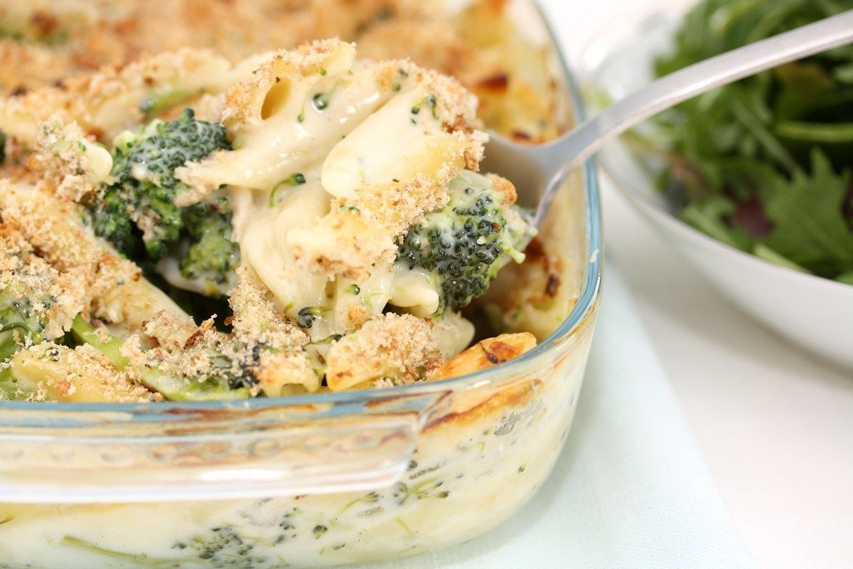broccoli og kylling