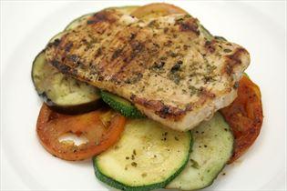 Nakkekotelet med grønsager og balsamico