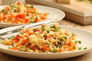 Risotto med grønsager