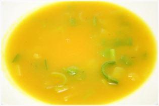 Hokkaidosuppe med porre