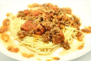 Spaghetti med hjemmelavet kødsovs