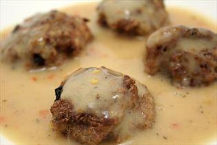 Italienske kødboller i chilisauce