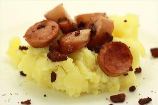 Pølser med kartoffelmos