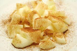 Hurtig lækker æbledessert