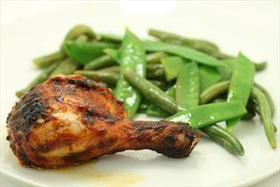 Barbecuekylling med grønsager