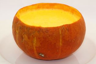 Græskar-Appelsin Suppe