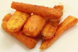 Honningglacerede gulerødder