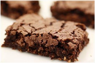 Chocoladekage, brownie