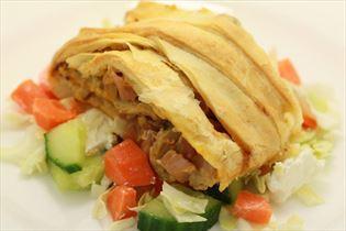 Skinkestang med kålsalat