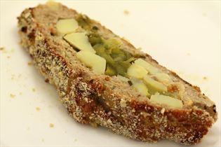 Farsbrød med kartoffel og porre