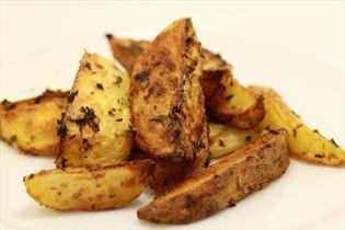 Lækre stærke kartofler i ovn