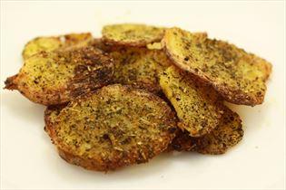 Sprøde ovnstegte kartofler