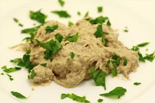 Baba ganoush (egyptisk aubergine forret)