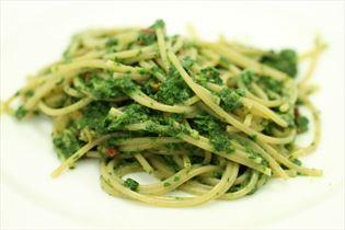 Spaghetti spinat