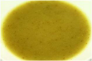 Kartoffel- jordskokke suppe med parmaskinke