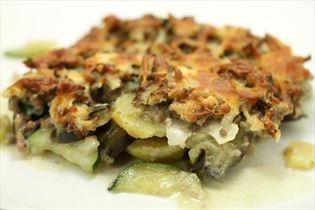 Gorgonzola moussaka