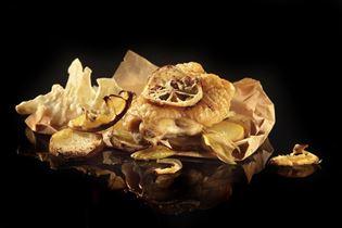 Citronkylling med blomkålssalat
