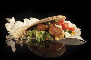 Pita med Falafel