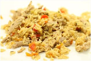 Indisk risret med mørbrad