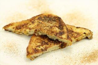 Søde toast med æg og sukker