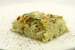 Kartoffeltærte med krydderurter