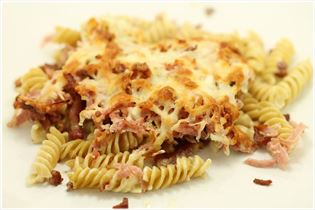 Bacon pasta (basis opskrift)