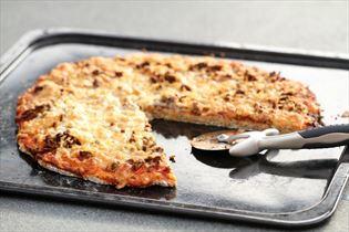 Hjemmelavet fuldkornspizza - grund opskrift