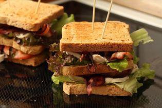 Simpel club sandwich