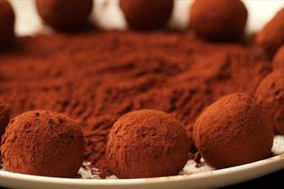 Kakaokugler med svesker