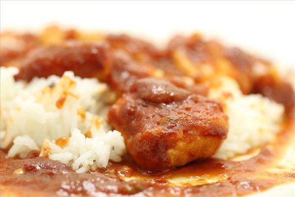 Kylling i cola med ris