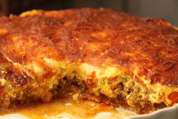 Mexicansk tærte med oksekød