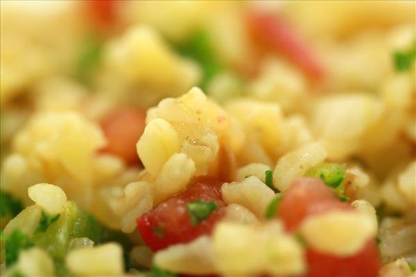 Bulgursalat med chili