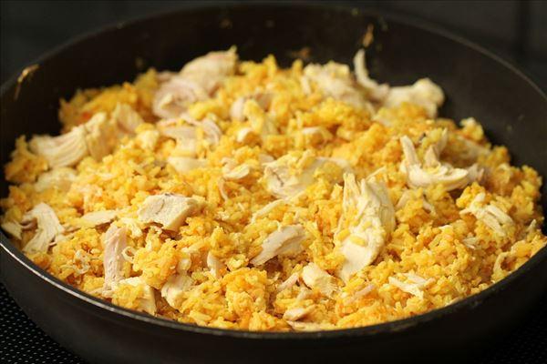 ris og kylling opskrift