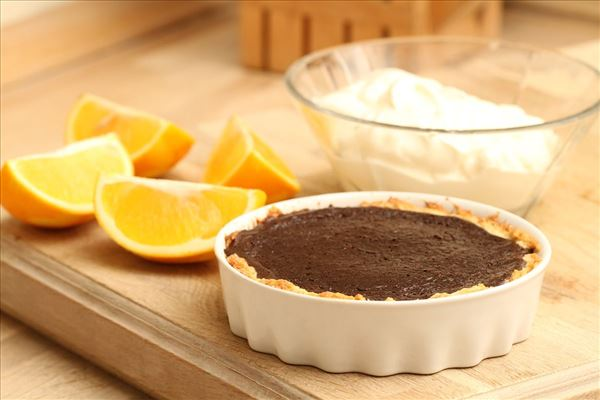 Chokoladetærte - light
