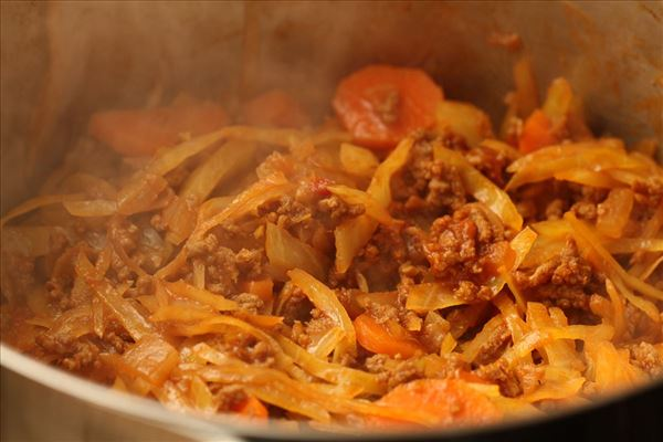 Gisou - stærk kålret med oksekød