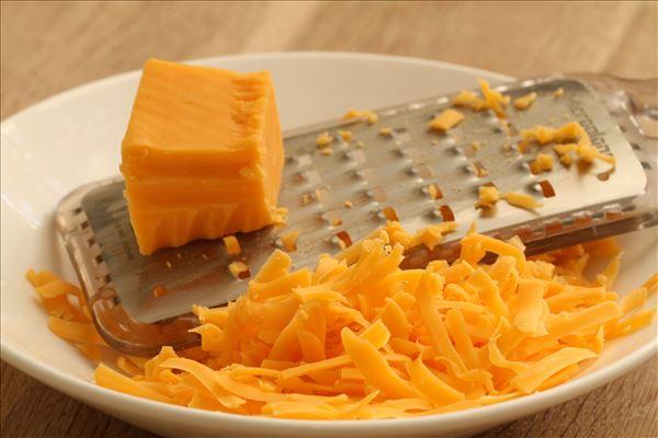 Omelet med mexicansk slaw